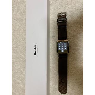 Apple Watch - アップルウォッチ Series 3(GPSモデル)42mm 純正バンド未使用
