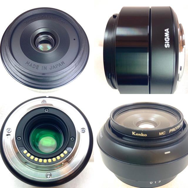 SIGMA(シグマ)のSIGMA 30mm F2.8 DN (単焦点レンズ)マイクロフォーサーズ スマホ/家電/カメラのカメラ(レンズ(単焦点))の商品写真
