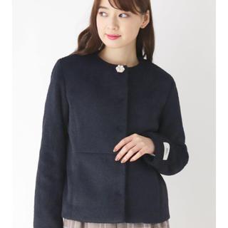 OPAQUE.CLIP - 新品タグ付き♡オペークドットクリップ インデックス ノーカラージャケット コート