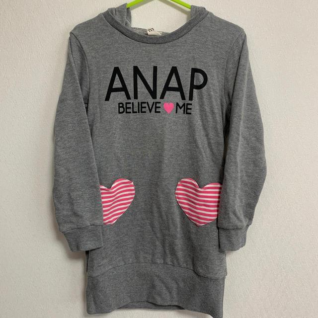 ANAP Kids(アナップキッズ)のnao様専用ANAPkidsワンピース130cm キッズ/ベビー/マタニティのキッズ服女の子用(90cm~)(ワンピース)の商品写真