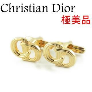クリスチャンディオール(Christian Dior)のディオール 極美品 メンズ CDロゴ カフス カフリンクス アクセサリー(カフリンクス)