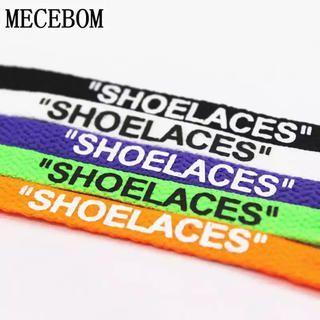 Shoelaces 靴ひも FLAT 120cm/160cm Zip Tie(スニーカー)