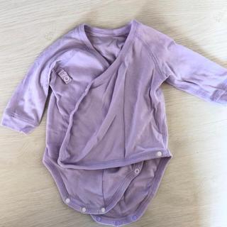 ユニクロ(UNIQLO)のUNIQLOベビー服ロンパース60(肌着/下着)