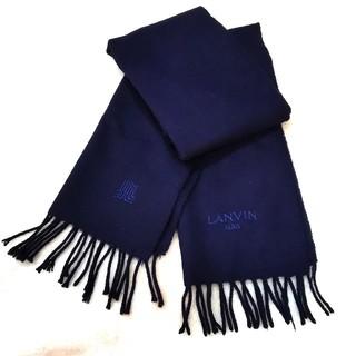 ランバンオンブルー(LANVIN en Bleu)のランバンオンブルー ランバン オン ブルー マフラー カシミヤ カシミア ユニ(マフラー/ショール)