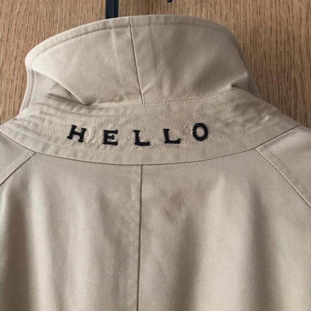 Shinzone(シンゾーン)のpreloved バーバリーリメイクコート メンズのジャケット/アウター(ステンカラーコート)の商品写真