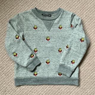 ヒステリックミニ(HYSTERIC MINI)の刺繍 100cm(Tシャツ/カットソー)