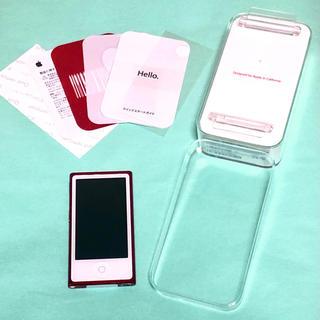 Apple - iPod nano 第7世代 レッド