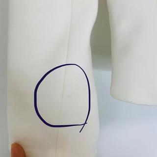 テッドベイカー(TED BAKER)の出品のジャケットの状態感確認(ノーカラージャケット)