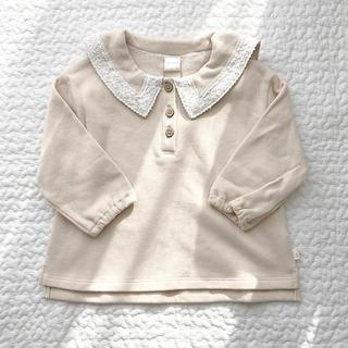 フタフタ(futafuta)の【80cm】テータテート トップス(Tシャツ)