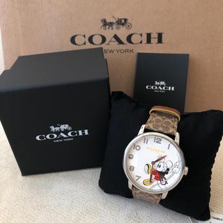 COACH - 付属品有り新品★COACH ロープクライム ミッキーマウス グランド ウォッチ