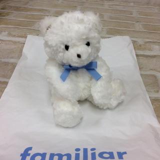 familiar - 【新品】ファミリアベアーミニ ぬいぐるみ 02MN1025230