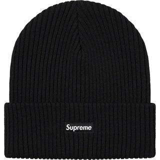 Supreme - Supreme Wide Rib Beanie Black