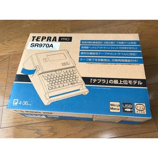 キングジム - 【未使用】[最上位モデル] テプラPRO SR970A (テープ付き)