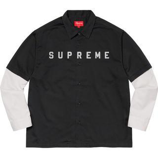 Supreme - Supreme 2-Tone Work Shirt XL