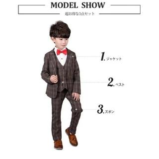 コムサイズム(COMME CA ISM)の130cm スーツ6点セット(ドレス/フォーマル)
