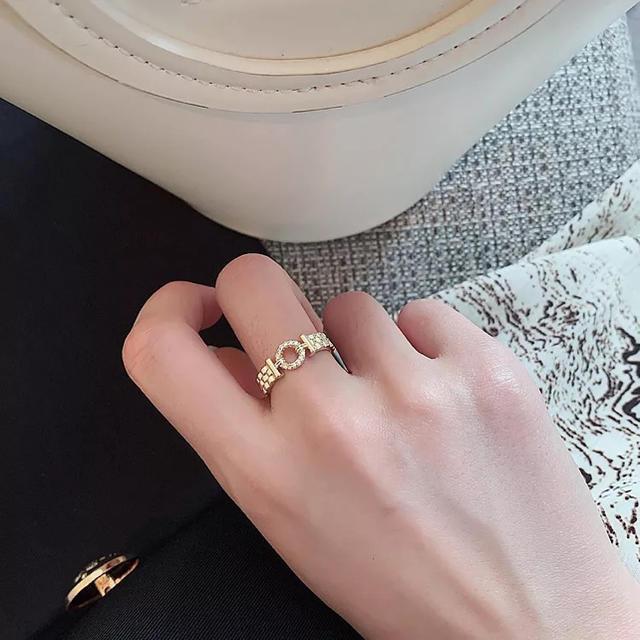 ete(エテ)のnew♡#304 デザインゴールドリング 予約受付商品 レディースのアクセサリー(リング(指輪))の商品写真