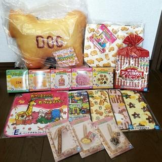 BANDAI - 一番くじ たべっ子どうぶつ コンプリート A賞 クッション C賞 トートバッグ
