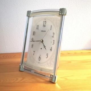 セイコー(SEIKO)のSEIKO CLOCK (セイコークロック) 電波時計 BZ360M 置き時計(置時計)