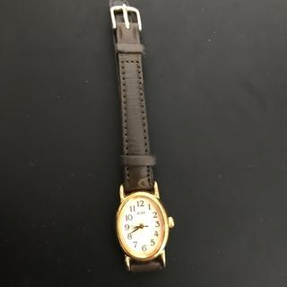 アルバ(ALBA)のalba 腕時計 レディース レザー ブラウン ゴールド(腕時計)