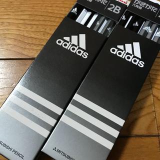 アディダス(adidas)の【限定お値下げ】アディダス かきかた鉛筆 2B 2ダースセット(鉛筆)