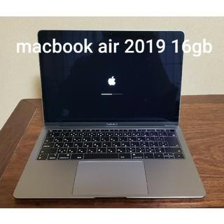 Mac (Apple) - 美品 macbook air 2019 16gb 256gb