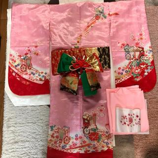 しちごさん 着物 帯 5歳(和服/着物)