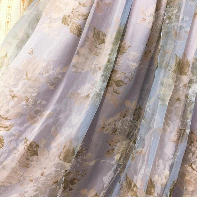 dazzlin(ダズリン)のdazzlin オーガンジー花柄スカート レディースのスカート(ひざ丈スカート)の商品写真