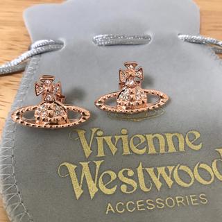 ヴィヴィアンウエストウッド(Vivienne Westwood)の定番ピアス ピンクゴールド(ピアス)