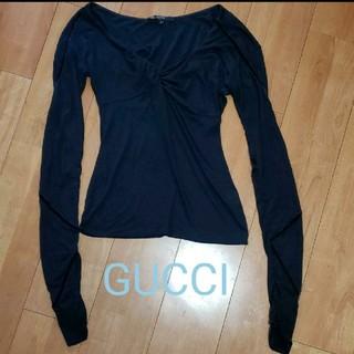 グッチ(Gucci)のGUCCI 長袖 トップス カットソー (カットソー(長袖/七分))