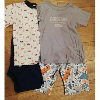 アンパサンド(ampersand)のAmpersand 半袖パジャマ 100cm 2枚組 男の子(パジャマ)