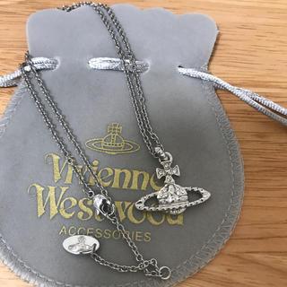 ヴィヴィアンウエストウッド(Vivienne Westwood)の定番ネックレス シルバー(ネックレス)
