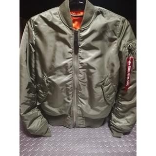 ALPHA アルファ MA-1 TIGHTフライトジャケット20004-203