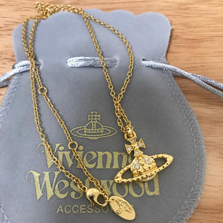 ヴィヴィアンウエストウッド(Vivienne Westwood)の定番ネックレス ゴールド(ネックレス)