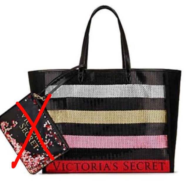 Victoria's Secret(ヴィクトリアズシークレット)の残1!ヴィクシー【新品未使用】スパンコール トートバッグ レディースのバッグ(トートバッグ)の商品写真