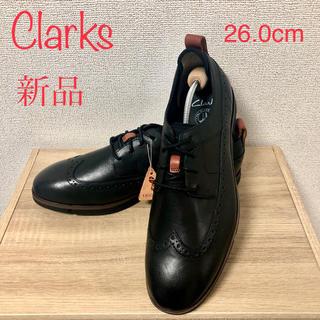 クラークス(Clarks)の未使用 新品 Clarks クラークス サイズ メンズ 革靴 26.0cm(ドレス/ビジネス)