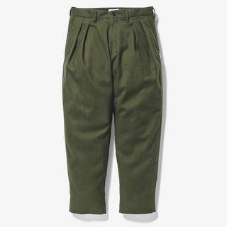 W)taps - WTAPS TUCK TROUSERS COTTON. FLANNEL L