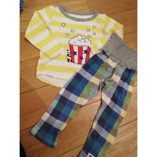 アカチャンホンポ(アカチャンホンポ)の赤ちゃん本舗 長袖パジャマ 100cm (パジャマ)