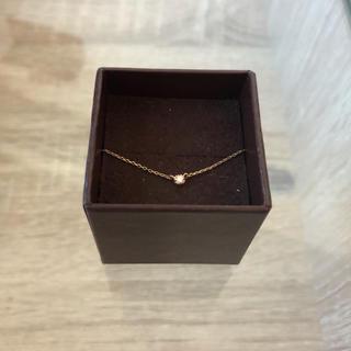 エテ(ete)の【ete】K10 レイヤー ダイヤモンド ネックレス(ネックレス)