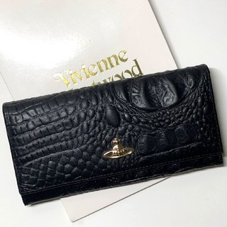 Vivienne Westwood - 正規品◆ヴィヴィアン ウエストウッド Vivienne 新品 長財布 黒