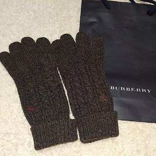 BURBERRY - 美品★メンズ バーバリー手袋