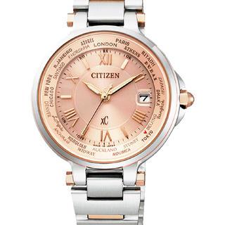 CITIZEN - XC クロスシー ソーラー腕時計 メーカー保証付き EC1014-65W