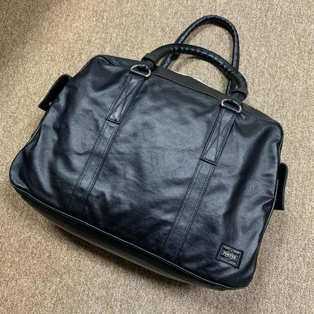 PORTER(ポーター)のPORTER ポーター ビジネスバック 黒 メンズのバッグ(ビジネスバッグ)の商品写真