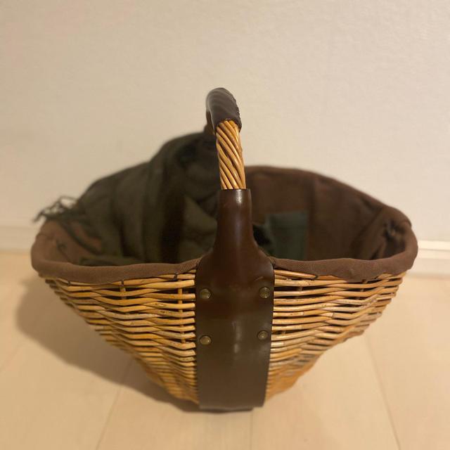ebagos かごバッグ ワンハンドル レディースのバッグ(かごバッグ/ストローバッグ)の商品写真