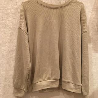 ハニーズ(HONEYS)のワッフルTシャツ(カットソー(長袖/七分))