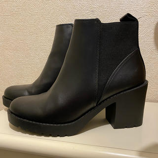 H&M - ショートブーツ サイドゴアブーツ