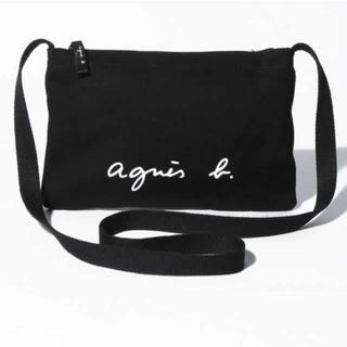 agnes b. - アニエスベー サコッシュ ショルダーバッグ ブラック 新品タグ付き