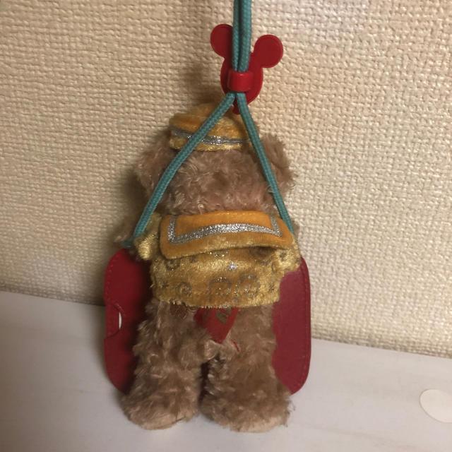 ダッフィー(ダッフィー)のディズニー 30周年 ダッフィー パスケース コインケース カードケース エンタメ/ホビーのおもちゃ/ぬいぐるみ(キャラクターグッズ)の商品写真
