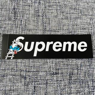 Supreme - Supreme smurfs ステッカー  Black supreme