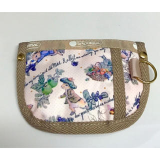 LeSportsac - レスポートサックkey coin pouch ピーターラビット