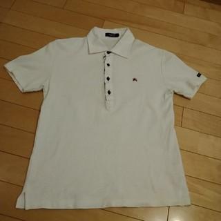 バーバリーブラックレーベル(BURBERRY BLACK LABEL)のバーバリーブラックレーベル ポロシャツ 半袖(ポロシャツ)